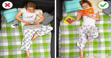 طريقة النوم الصحيحة - علاج آلام الرقبة