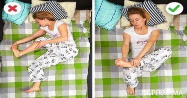 طريقة النوم الصحيحة - علاج مشكلة الشخير