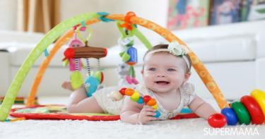 4 تمارين تساعد على تقوية عضلات الرضيع 4