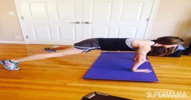 تمارين عضلات بطن 1