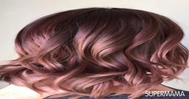 ألوان شعر تجعله غزيرًا - لون الشيكولاتة الموف