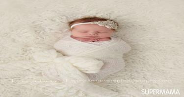 أفكار لتصوير المولود 2
