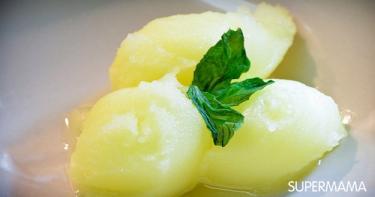 جرانيتا الليمون بالنعناع