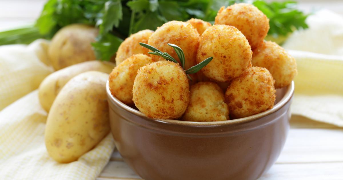 طريقة عمل أصابع البطاطس المهروسة المقلية سوبر ماما