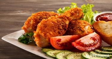 الدجاج المقرمش بطريقة جديدة