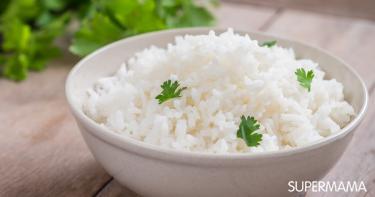 أرز بالمستكة