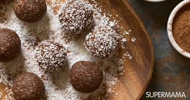 حلويات بالشعيرية العادية - طريقة عمل كرات البسكويت والشعرية